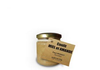 confit miel et amandes 270 g