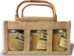 trio de confits de miel